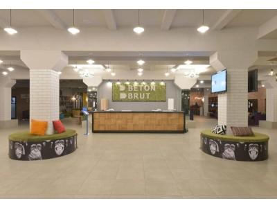 Лофт-отель «Beton Brut» (Бетон Брют) Анапа | Ресепшн