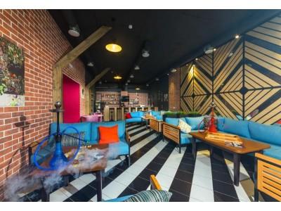 Лофт-отель «Beton Brut» (Бетон Брют) Анапа | Кальянная