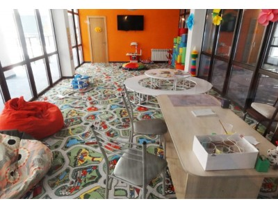 Лофт-отель «Beton Brut» (Бетон Брют) Анапа | Детская комната