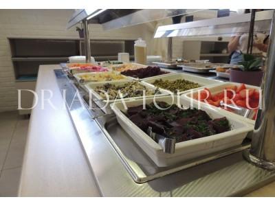 Ресторан шведской линии | Лофт-отель «Beton Brut» (Бетон Брют) Анапа