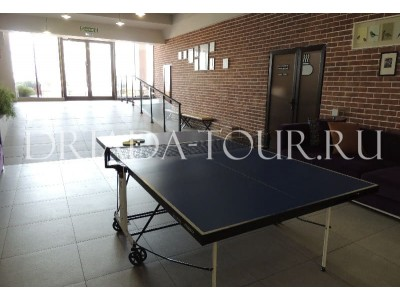 Настольный теннис | Лофт-отель «Beton Brut» (Бетон Брют) Анапа