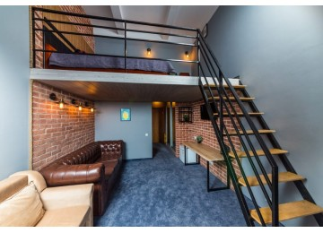 Superior mini duplex | Лофт-отель «Beton Brut» (Бетон Брют) Анапа