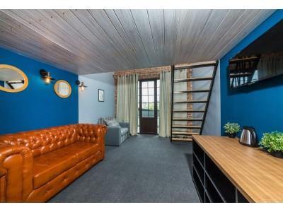 Delux mini duplex+terrace SSV | Лофт-отель «Beton Brut» (Бетон Брют) Анапа