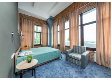 Junior Suite high + terrace SV   Лофт-отель «Beton Brut» (Бетон Брют) Анапа