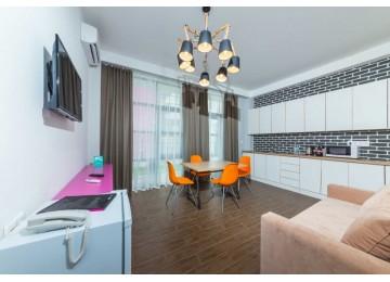 Family room | Лофт-отель «Beton Brut» (Бетон Брют) Анапа